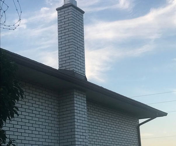 Chimney Removal - Before