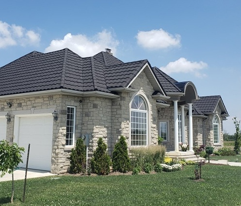 Stone Coated Metal Roofing in Hamilton